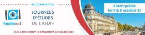 Foodintech présent aux journées d'études de l'AFDN à Montpellier
